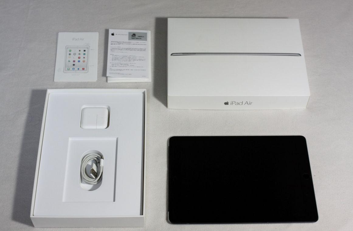 【新品同様】 iPad Air2 Cell 16GB_6 Space Gray softbank (送料無料)