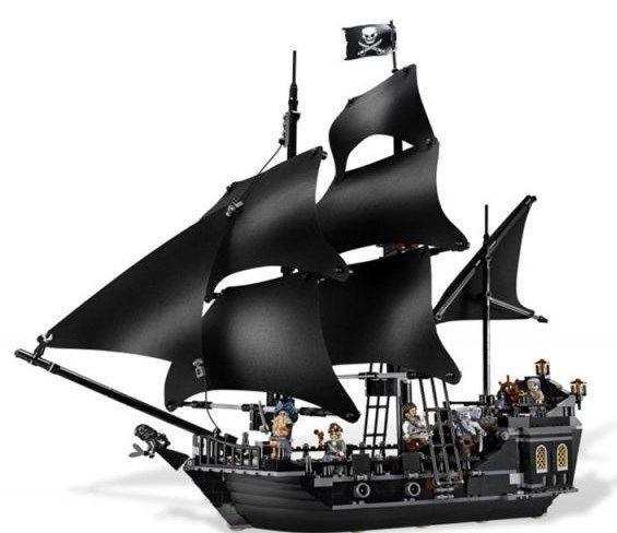 送料無料 新品 レゴ互換 パイレーツ ブラックパール号 送料 パイレーツ・オブ・カリビアン ジャック・スパロウ 海賊船 アウトレット