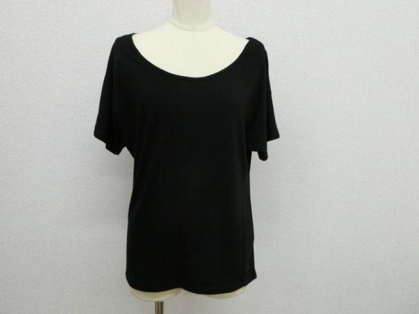 (16400)BLESS TOKYO 半袖ドルマンカットソー ブラック USED