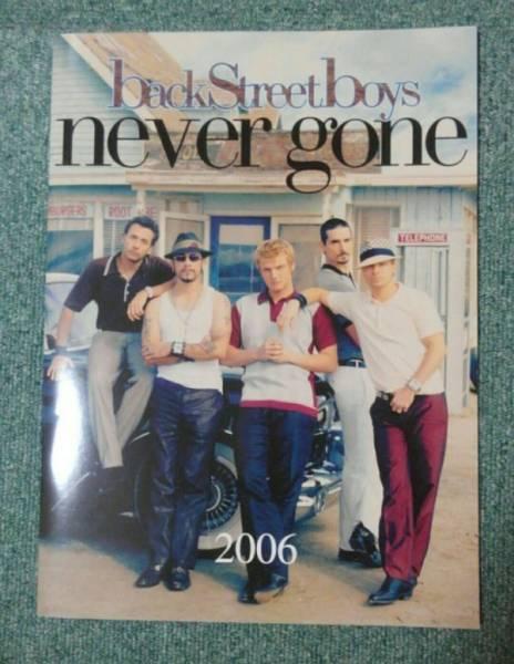 新品同様♪ライブ パンフレット☆BACKSTREET BOYS never goneTOUR☆バックストリートボーイズ♪ネバー ゴーン♪コンサート2006
