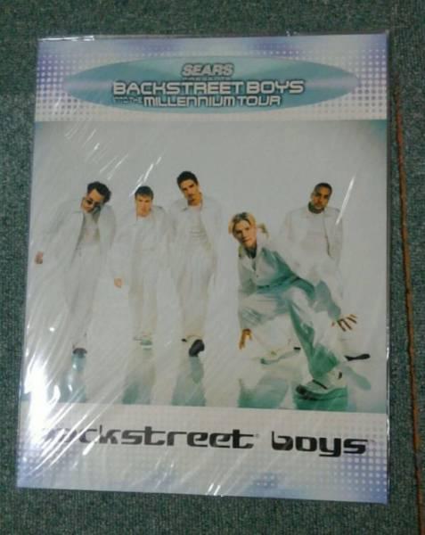 新品同様♪ライブ パンフレット☆BACKSTREET BOYS INTO MILLENNIUM TOUR☆バックストリートボーイズ♪ミレニアム♪コンサート