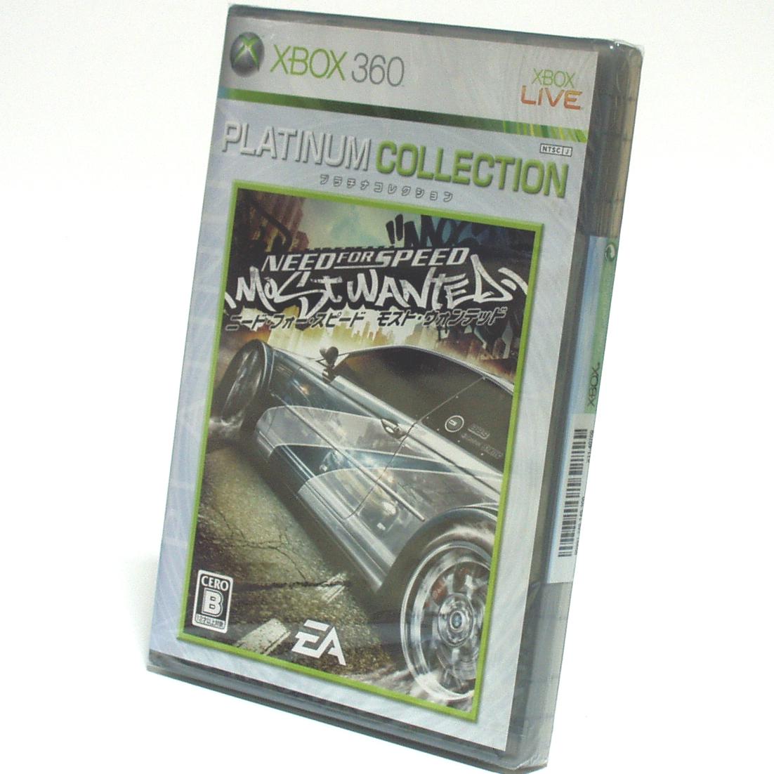■【未開封】ニード・フォー・スピード モスト・ウォンテッド Xbox360 プラチナコレクション NEED FOR SPEED: MOST WANTED EA ■ B1