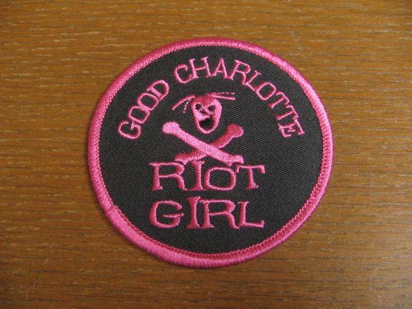 GOOD CHARLOTTEグッドシャーロット RIOT GIRL ワッペン