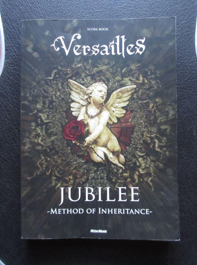 送料無料 Versailles JUBILEE バンドスコア 中古楽譜 RITTOR MUSIC ヴェルサイユ KAMIJO 薔薇の末裔
