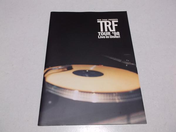 ▽ trf ★ 1998ツアーパンフ 【 tore'98Live in Unite 】 美品♪ ティーアールエフ