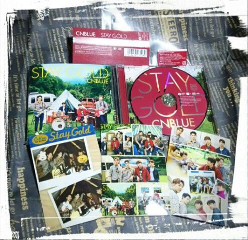 ◆CNBLUE◆STAY GOLD/starting over/ヨンファ/ミニョク/ジョンヒョン/ジョンシン ライブグッズの画像