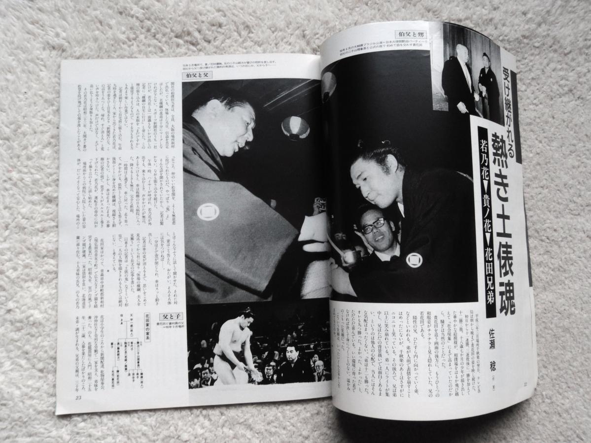 読売 大相撲 5月増刊 (平成三年) 疾走する青春の軌跡 貴花田&若花田_画像7