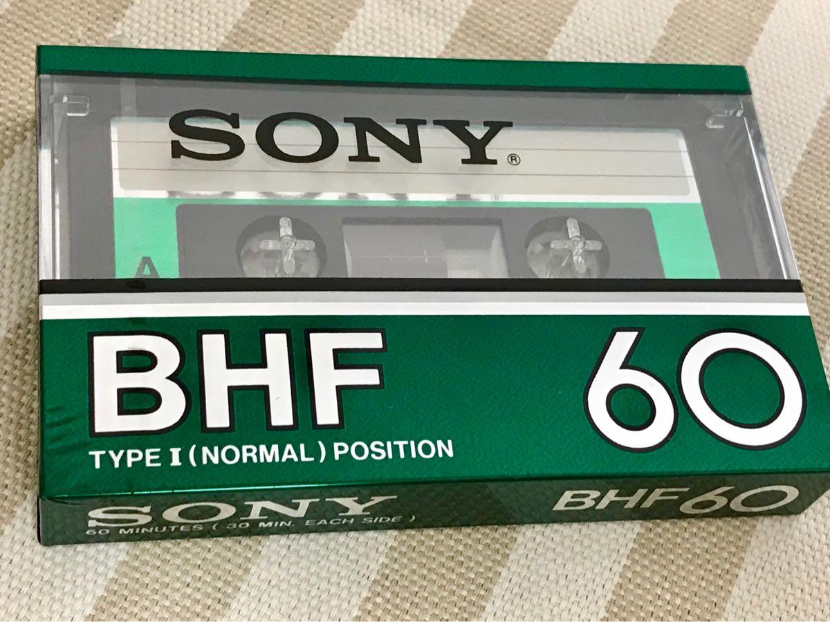 【レア レトロ 美品】SONY BHF60 新品未開封 郵便送料込