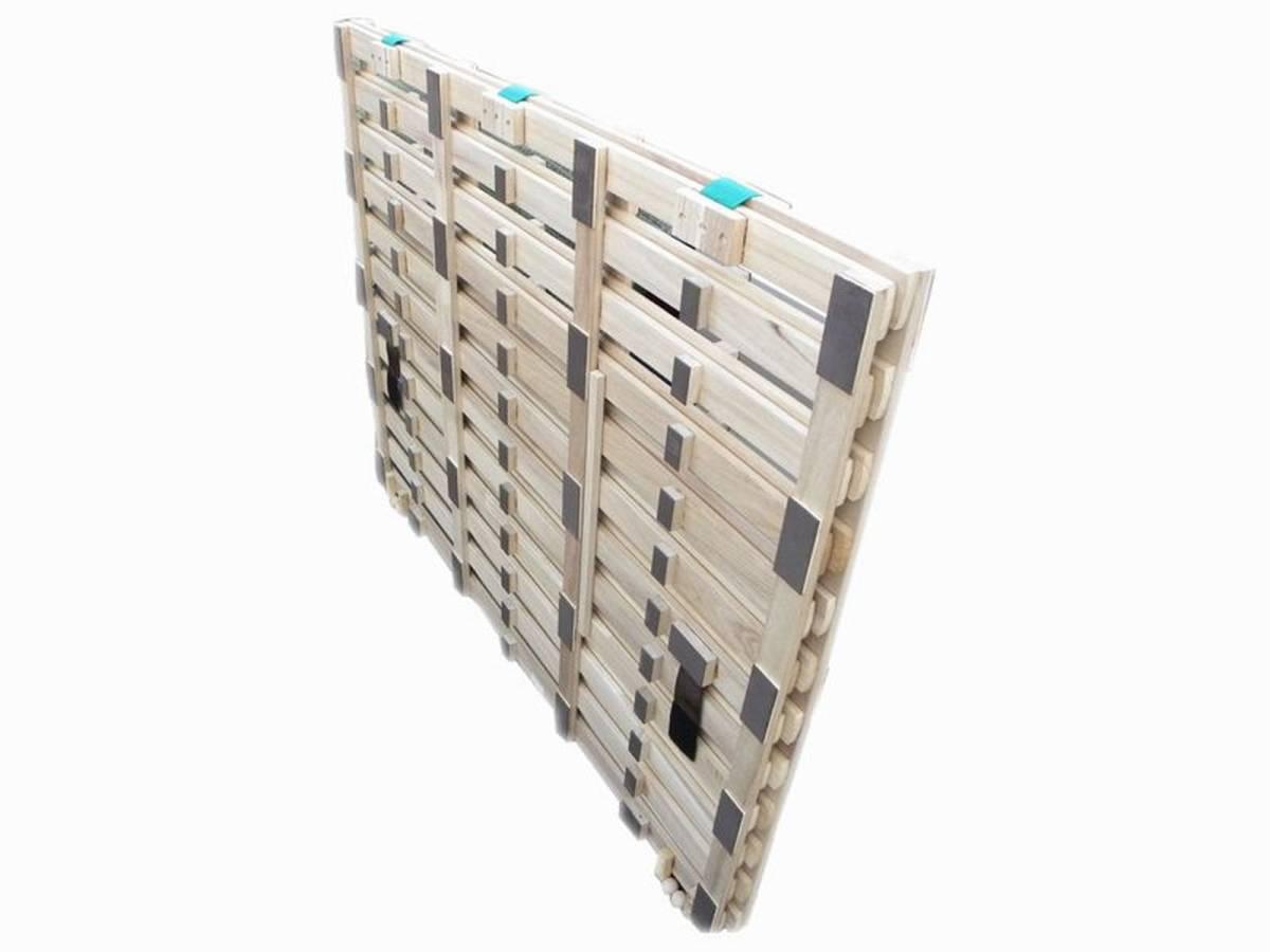 NITORI/ニトリ セミダブルサイズ すのこベッド 1205×2000 引取限定_画像2