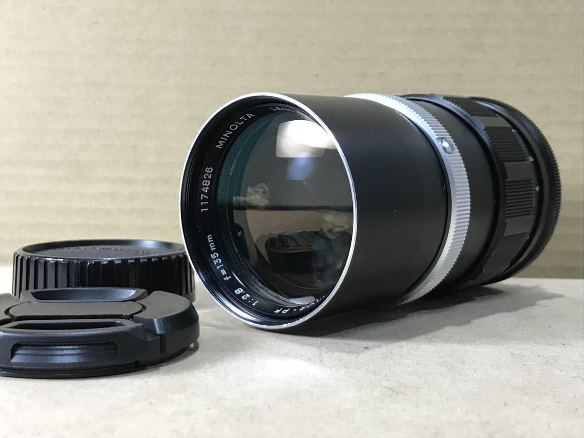 ミノルタ MINOLTA MC ROKKOR PF 1: 2.8 135mm MF レンズ Lens For 35mm SLR Film Camera MINOLTA MD 1円~