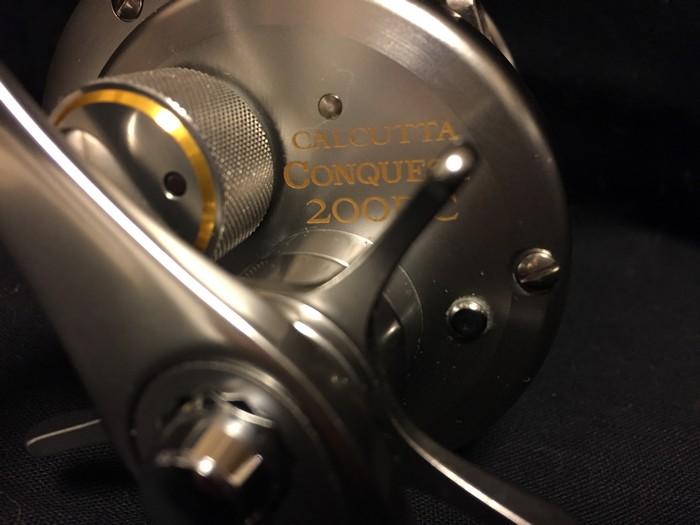 シマノ カルカッタ コンクエスト ■ 200DC a-rb rh460200/ オイル 説明書 ケース付き ■■新品同様_画像9