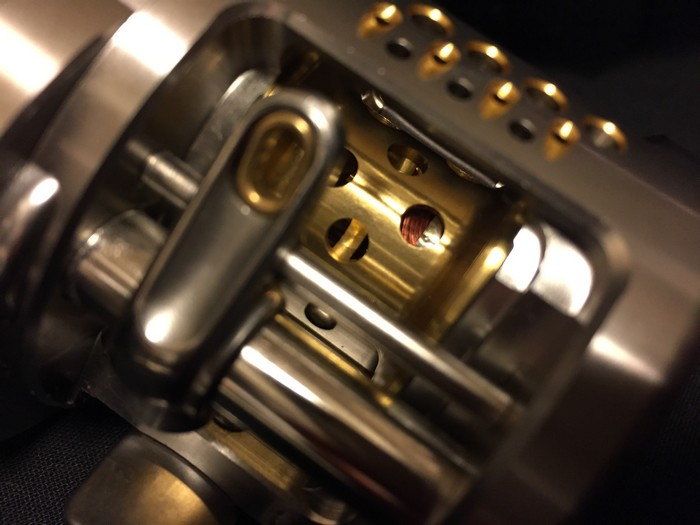 シマノ カルカッタ コンクエスト ■ 200DC a-rb rh460200/ オイル 説明書 ケース付き ■■新品同様_画像7