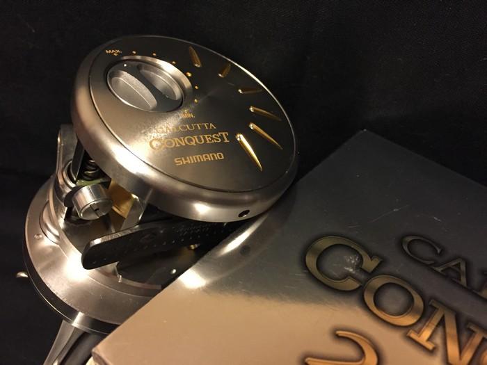 シマノ カルカッタ コンクエスト ■ 200DC a-rb rh460200/ オイル 説明書 ケース付き ■■新品同様_画像8