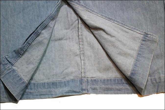 【8】 POLO RALPH LAUREN ポロ ラルフローレン デニム ロング スカート USA製 Aライン ビンテージ ヴィンテージ 古着 オールド EE52_画像7