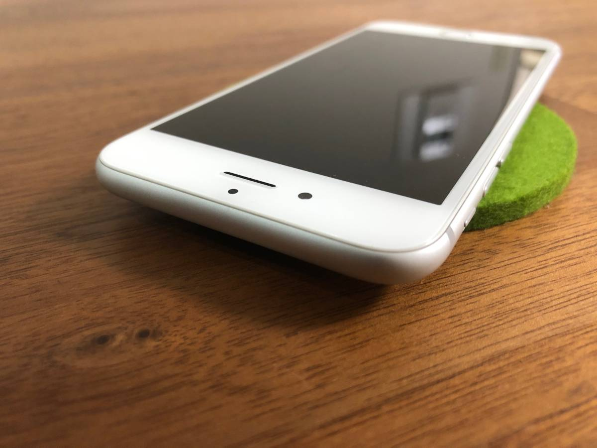 【美品】Apple iPhone6s 128GB シルバー / au購入 SIMロック解除済み SIMフリー_画像5