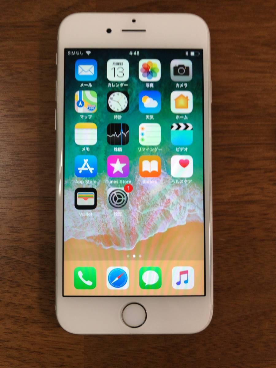 【美品】Apple iPhone6s 128GB シルバー / au購入 SIMロック解除済み SIMフリー_画像2