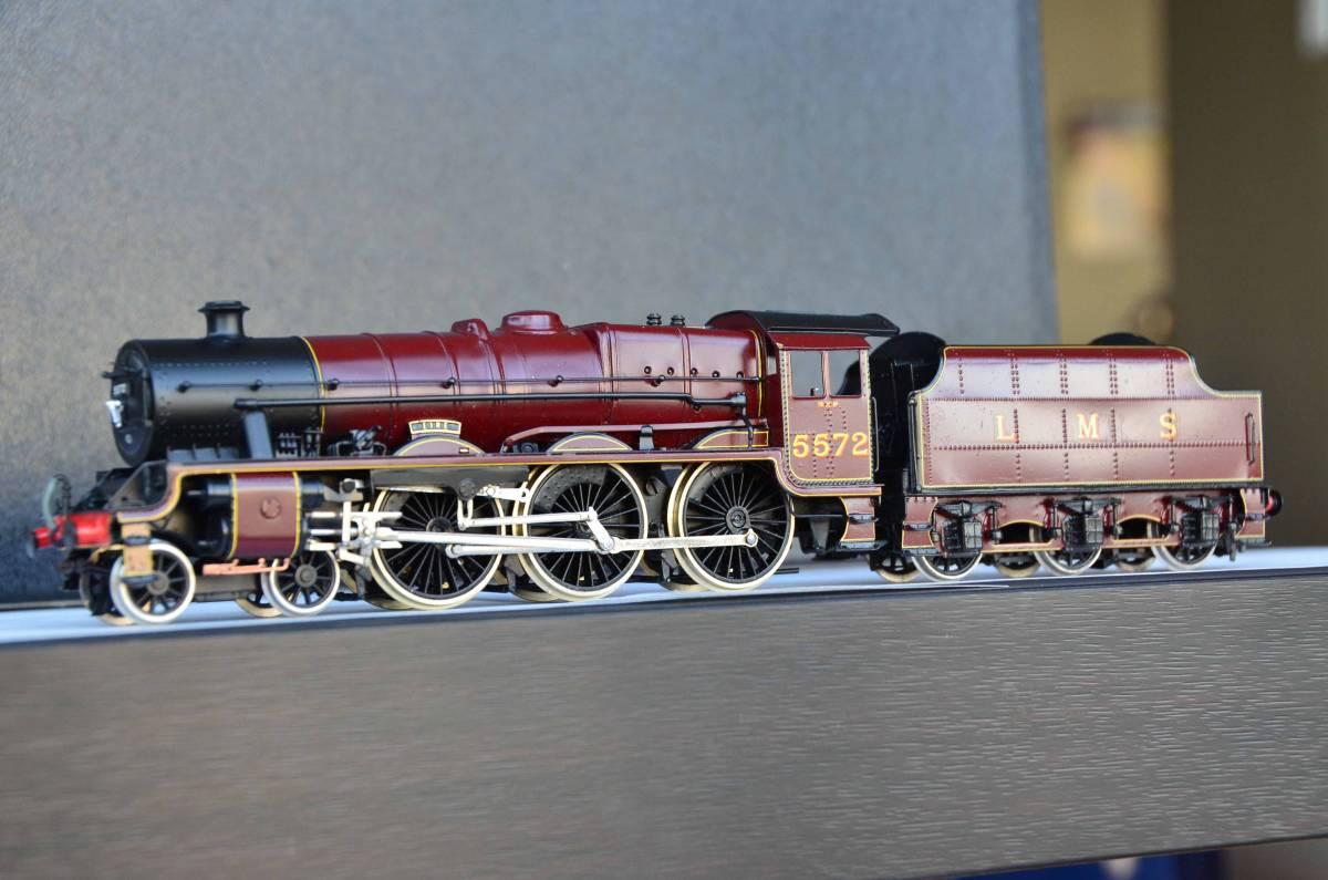 """ハンドメイド真鍮製イギリスLMS 4-6-0 Jubilee """"Eire"""" 蒸気機関車"""