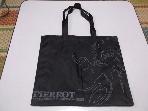 ▽ PIERROT ピエロ ★ THE EVENING OF UNDERMINING FINAL 【 手提げバッグ ♪美品 】 KIRITO キリト angelo