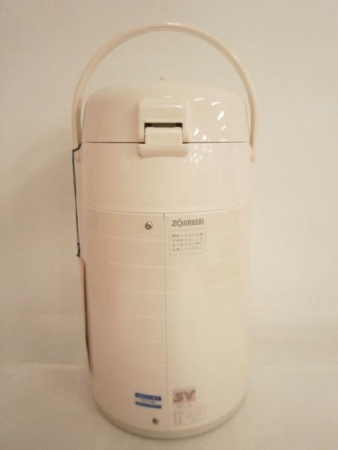 1スタ 未使用品 ZOJIRUSHI 象印 押すだけポット AAD-H22 デ・ル・ル 昭和レトロ 魔法瓶 花柄/茶器 卓上ポット/ZGT-28_画像4