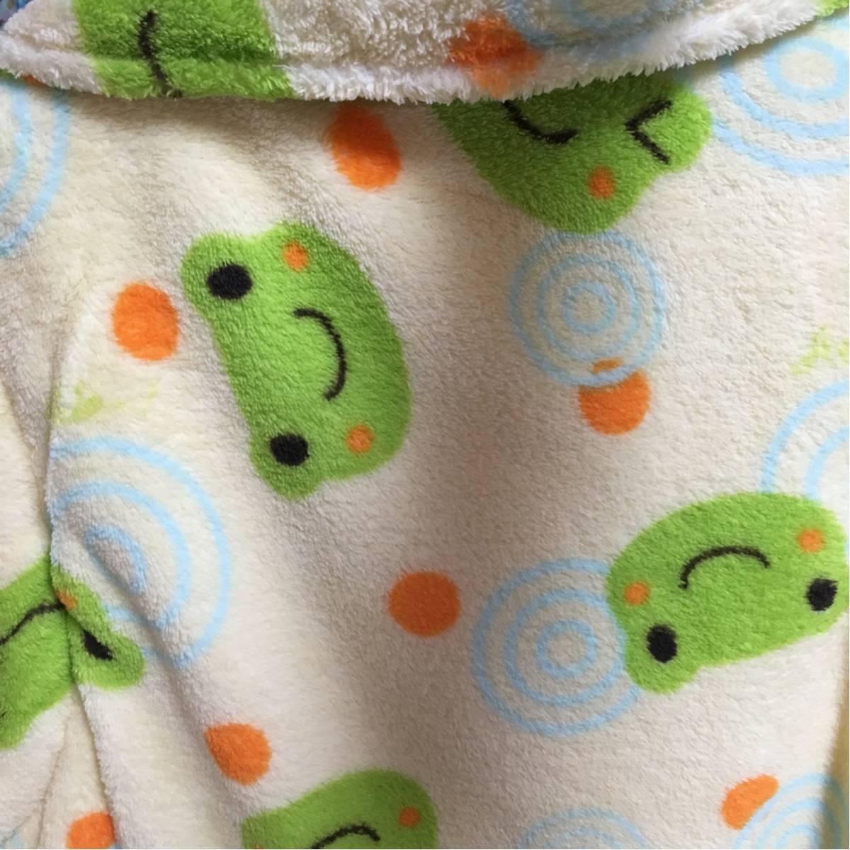 新品 カエル チョッキ レディース 可愛い 羽織 幼稚園先生に M から L レア_画像3