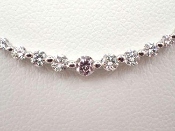 (中岡實驗室評估)流行時尚項鍊和粉紅鑽石夢想的合作 編號:s521840690