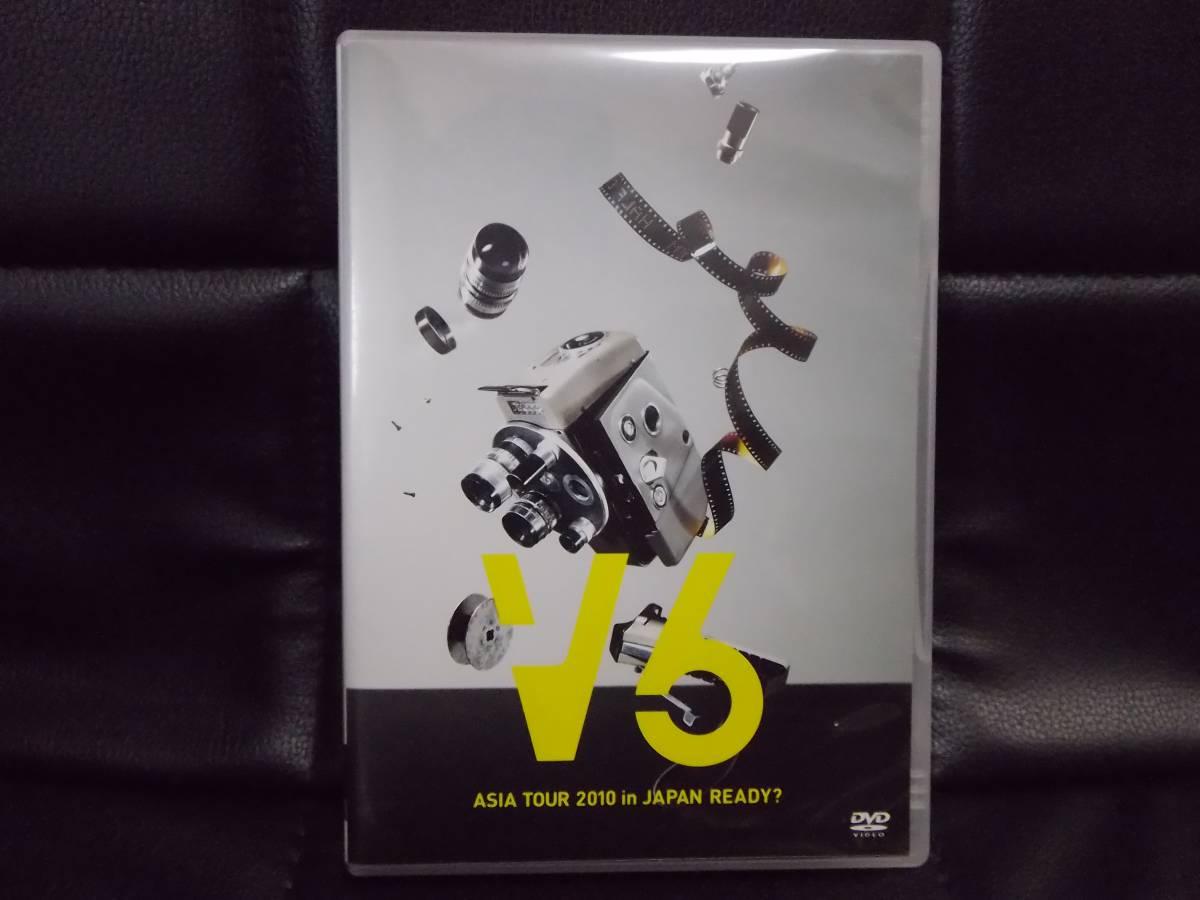 V6 DVD ASIA TOUR 2010 in JAPAN READY? コンサートグッズの画像