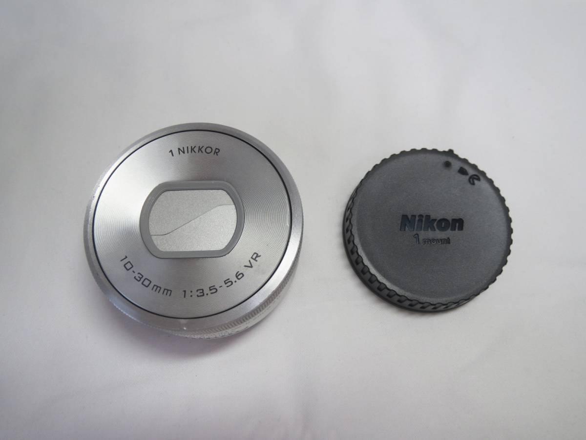 ★1 NIKKOR VR 10-30mm f/3.5-5.6 PD-ZOOM★シルバー★ジャンク品★レンズカバー付★