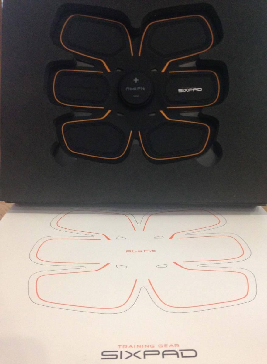 正規品!!SIXPAD Fit ボディフィット シックスパッド 腹筋 ダイエット ボディフィット高電導ジェルシート6枚 新品