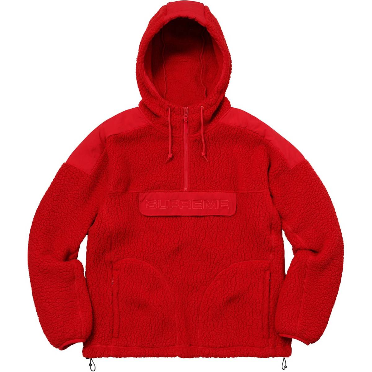 369c780d [ new goods ]Supreme 17F/W Polartec Hooded Half Zip Pullover S Supreme  immediately
