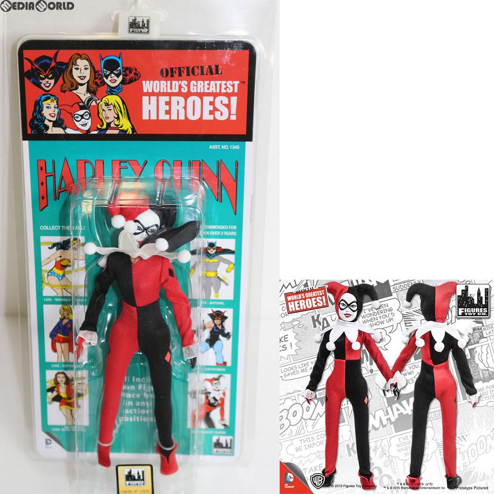 ワールドグレイテストヒーローズ/ DCコミックス クレスゲ スタイル レトロ 8インチ シリーズ3 ハーレイ・クイン フィギュアズトイ グッズの画像