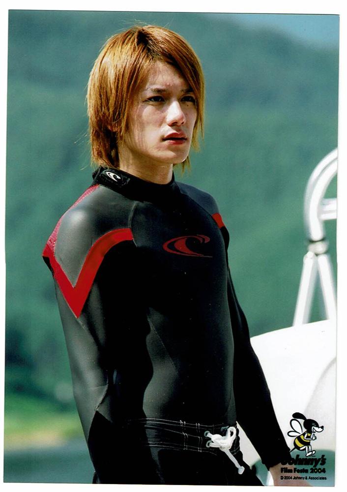 滝沢秀明 フォトセット1枚 ジャニーズフィルムフェスタ2004 タッキー&翼 公式写真