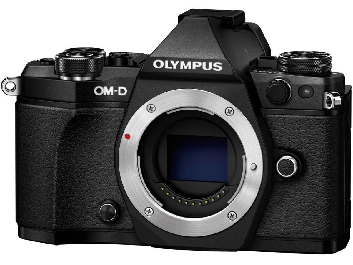 ☆未使用新品☆  OLYMPUS OM-D E-M5 Mark II ボディ ブラック メーカー保証付き