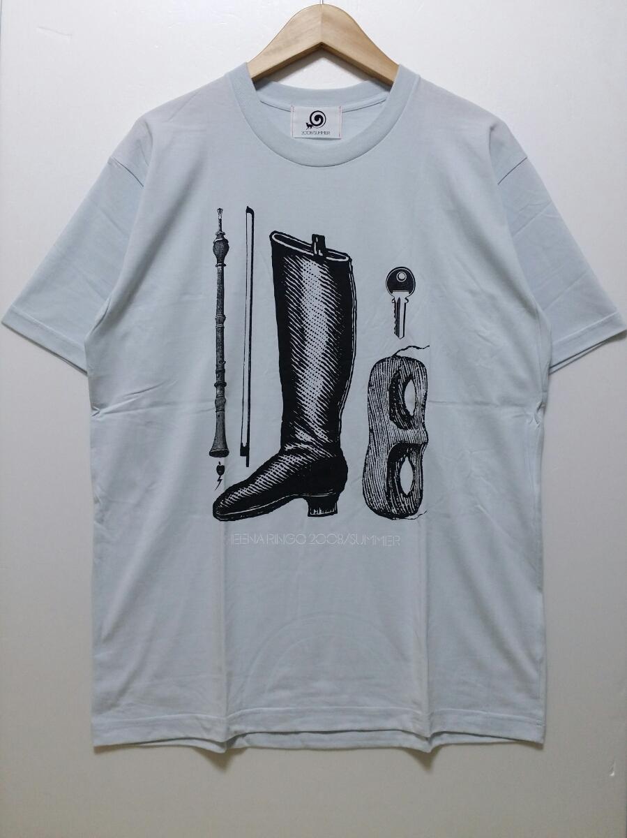 【送料無料】東京事変・椎名林檎/Tシャツ/2008 SUMMER 特殊開発グッズ/L/ワイドシャットブルー/即決