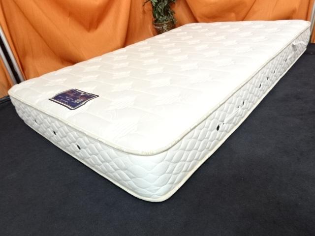 送料無料 日本ベッド シルキーポケット ハード セミダブルサイズマットレス 16万 展示品