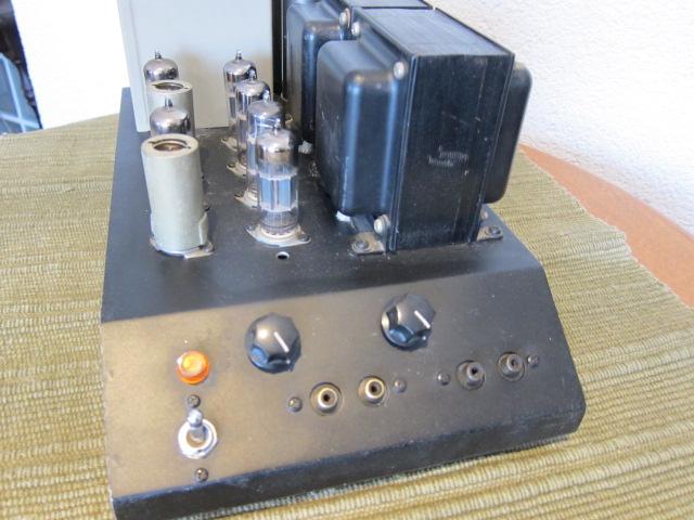 自作真空管パワーアンプ12B4App/6CG7/5814A