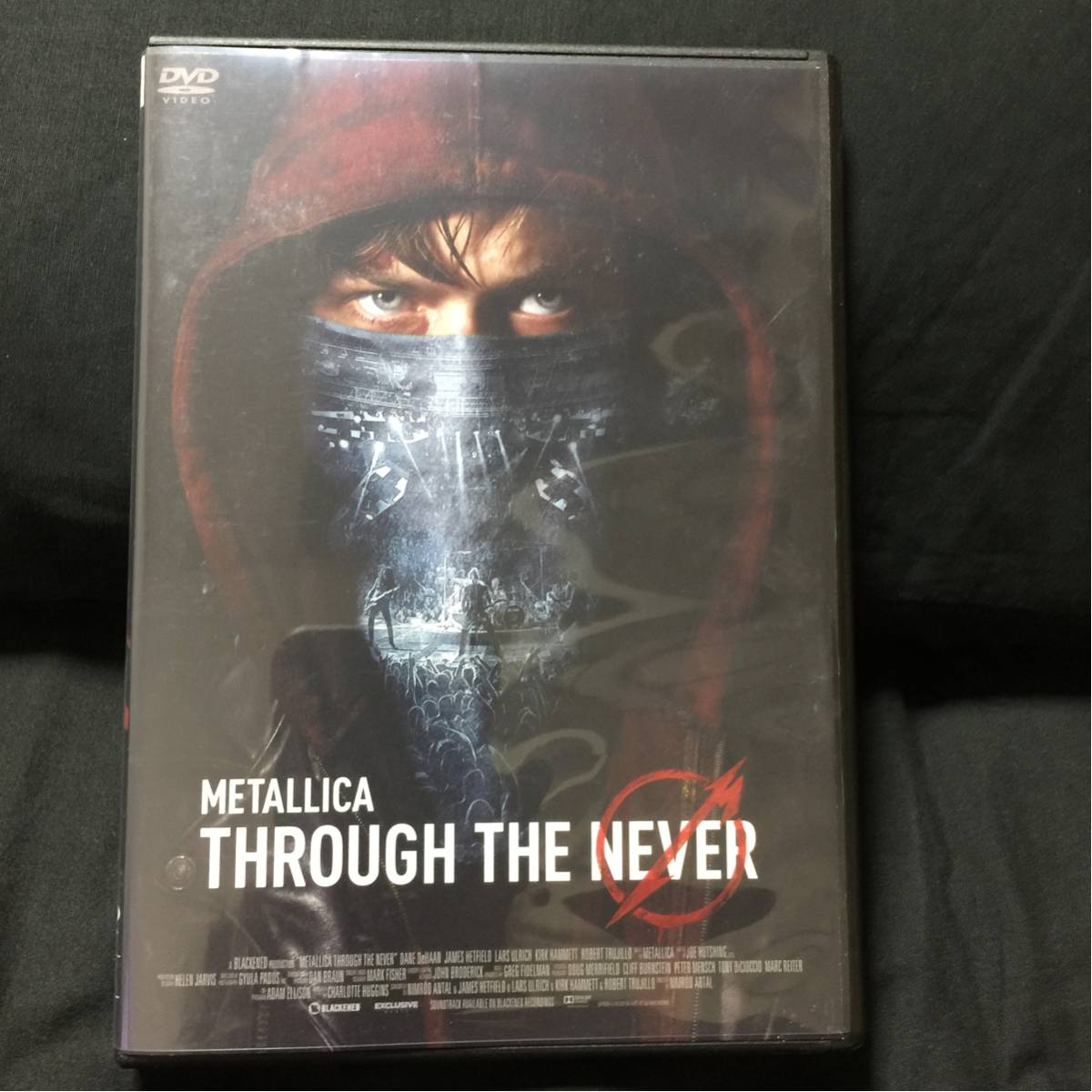 METALLICA THROUGH THE NEVER DVD メタリカ ライブグッズの画像