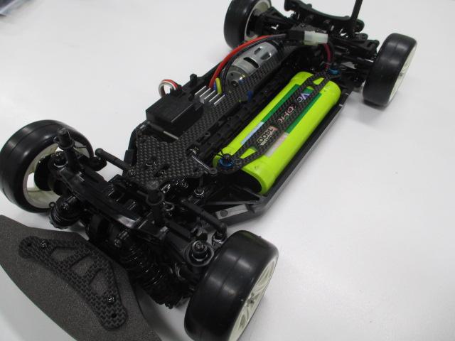 TT-02 メーカーテストカー 新品 (中古のオマケボディ付き)_TT-02です。僕が全力で組み立てました