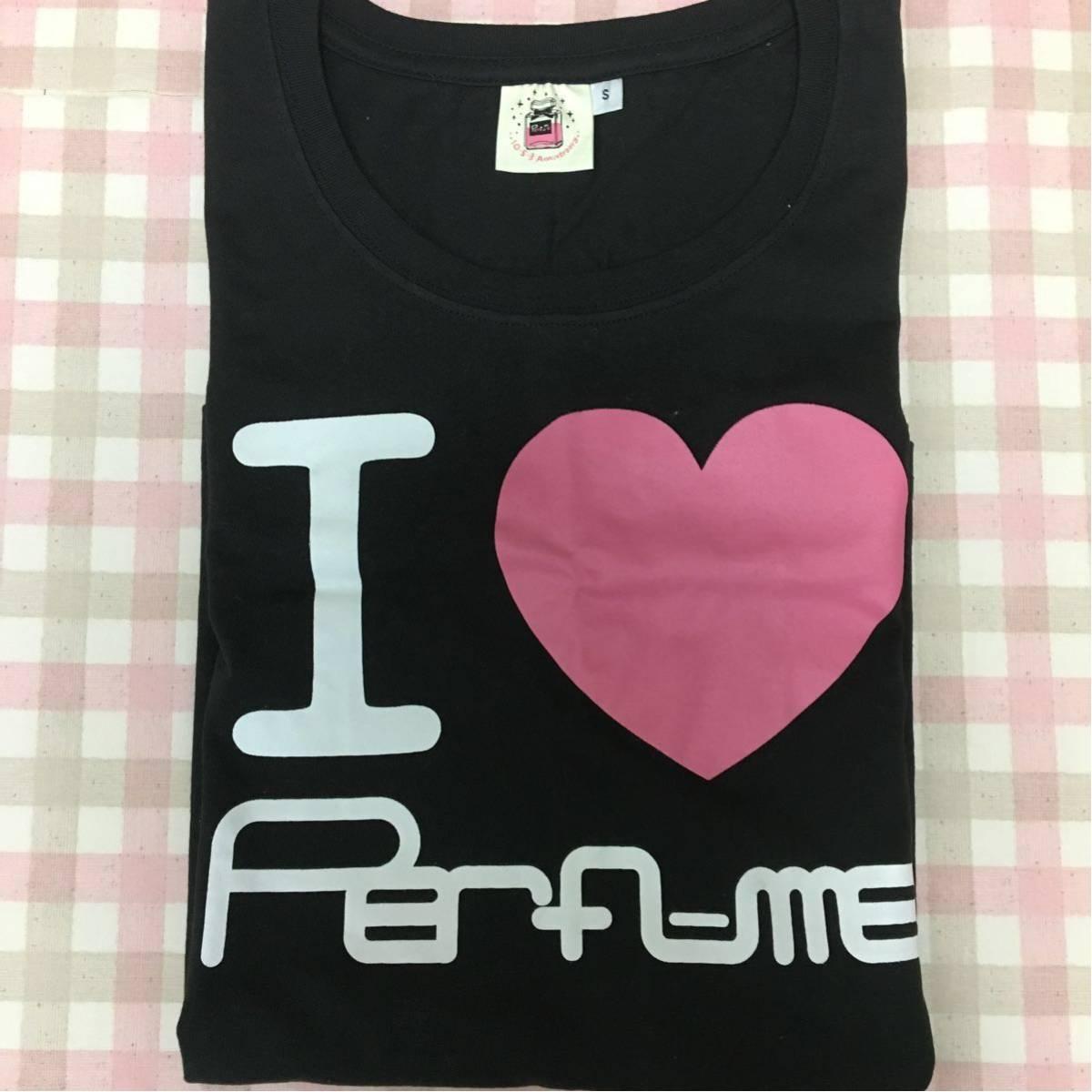 未着用 Perfume Tシャツ I LOVE Perfume Sサイズ FC限定 グッズ
