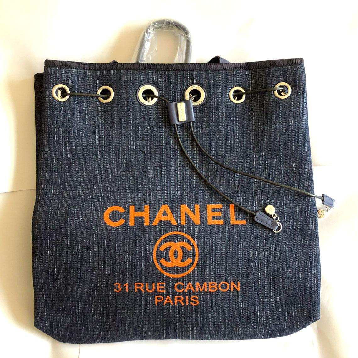 CHANEL シャネル リュック パリ, EUで流行中 パリの元デザイナーに「有償サンプル」で買い付け依頼品 上端有効幅約330mm