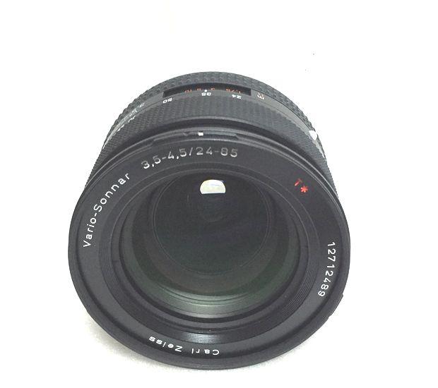 ★完動・美品★Contax Carl Zeiss Vario Sonnar T* 24-85mm F3.5-4.5 フィルター付 丁寧梱包・迅速対応★_画像3