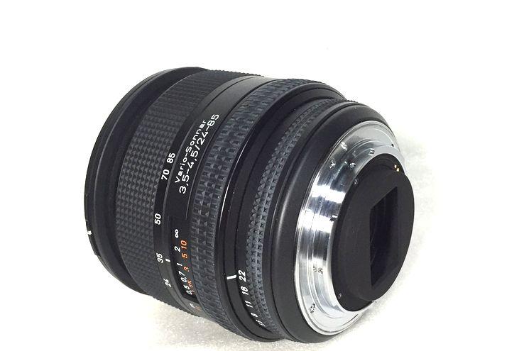 ★完動・美品★Contax Carl Zeiss Vario Sonnar T* 24-85mm F3.5-4.5 フィルター付 丁寧梱包・迅速対応★_画像4