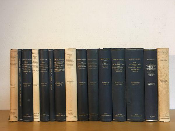 ドイツ語洋書古書 フッサール全集15冊一括 Husserliana