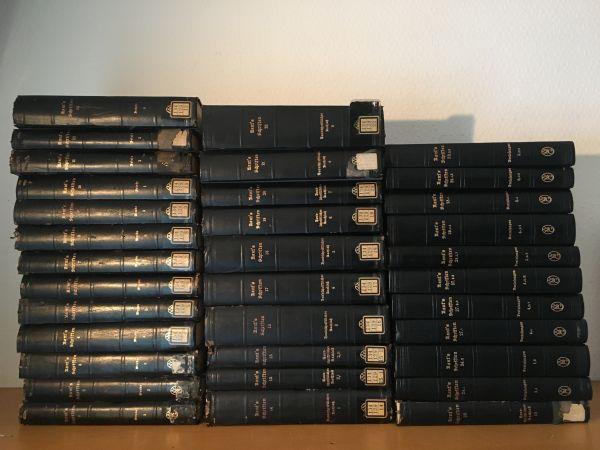 ドイツ語カント全集34冊一括  Kant's Gesammelte Schriften 洋書古書
