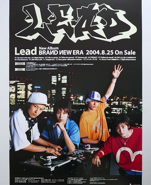 <ポスター>Lead「BRAND NEW ERA」2004年 リード ★非売品