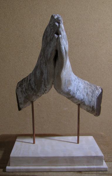 【哲】祈りの断片:マリア像の手(フランス・18世紀)