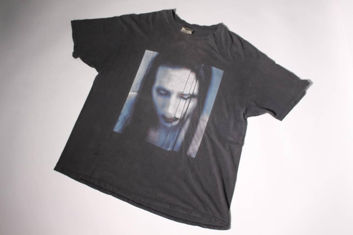 Marilyn Manson 90'S VINTAGE TEE マリリンマンソン ROOK SIZE XL