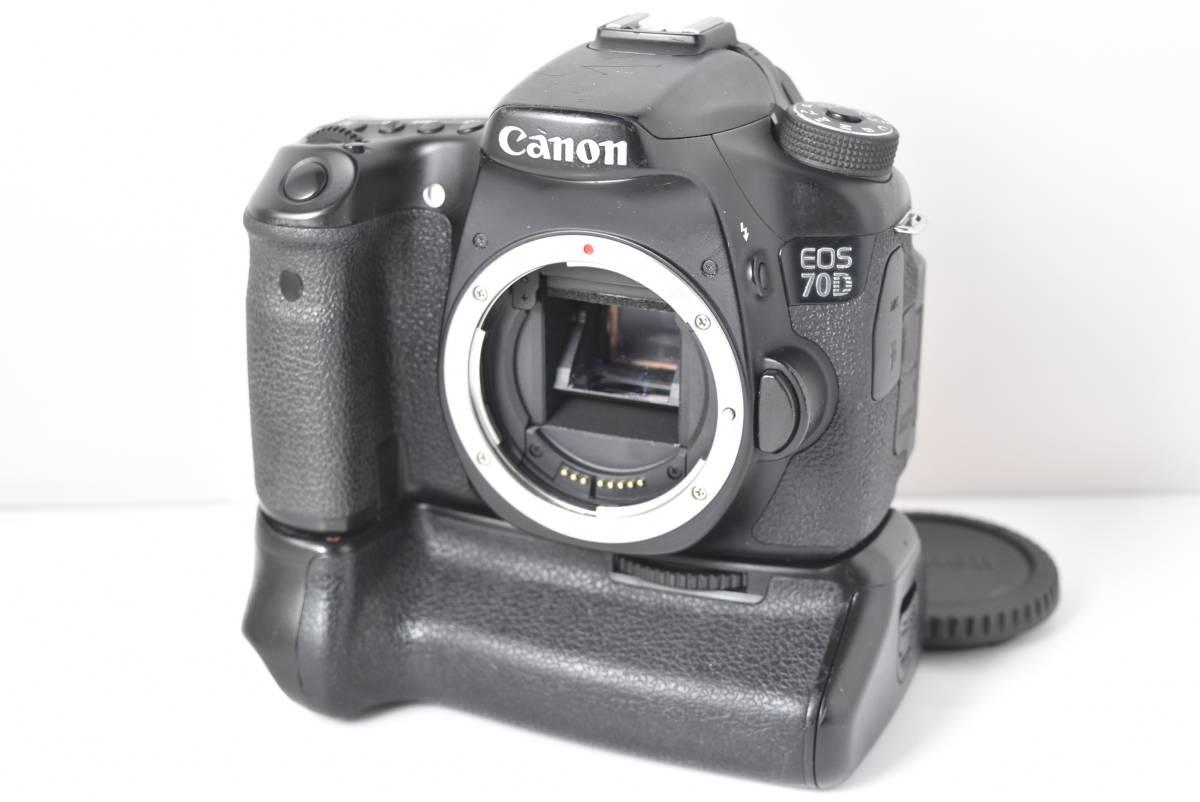 ★極上品★ キャノン Canon EOS 70D BG-E14付 ★完動品★ #5400