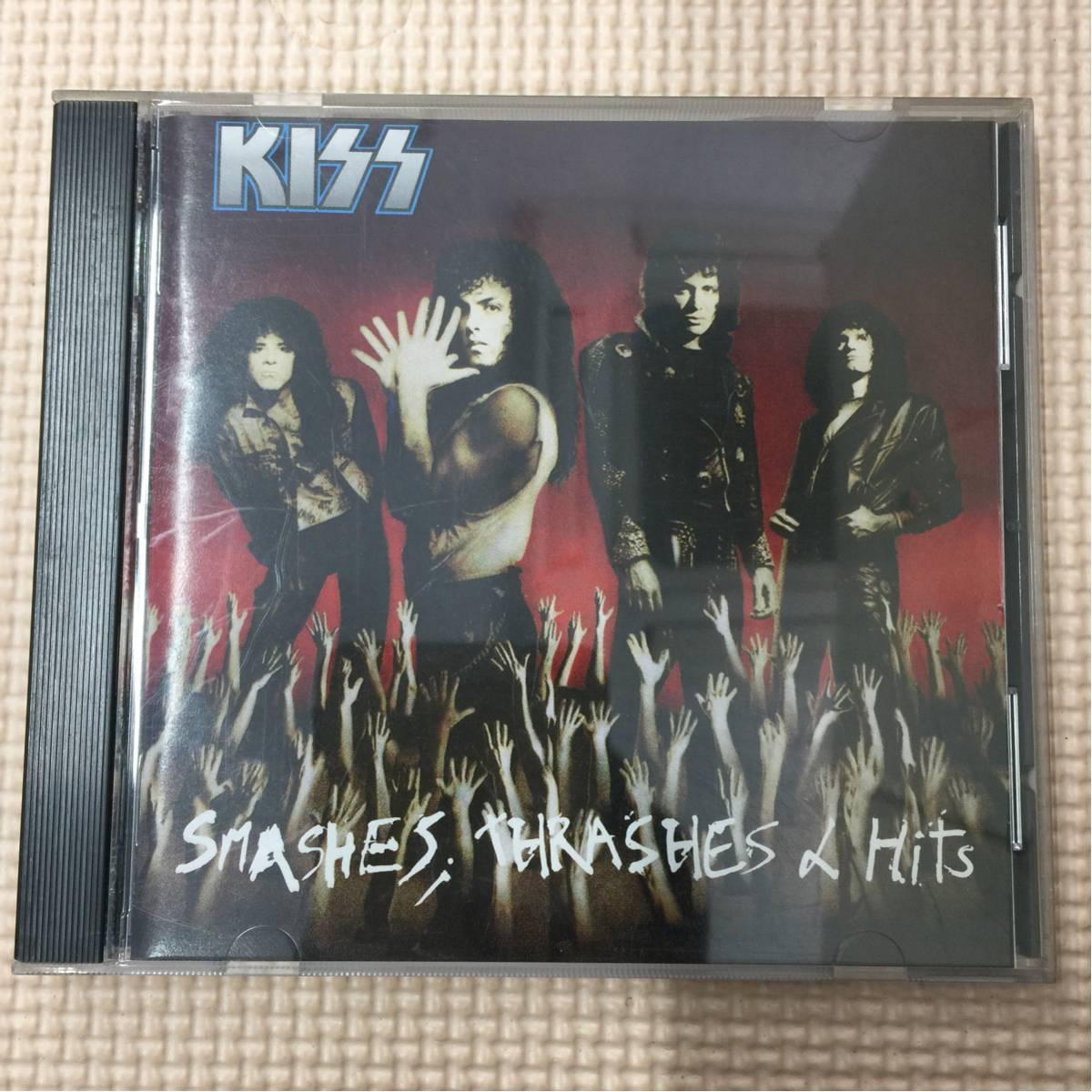 キッス Smashes, Thrashes & Hits 国内盤 CD