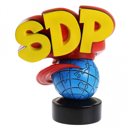 スチャダラパー 3Dロゴ フィギュア フルカラー