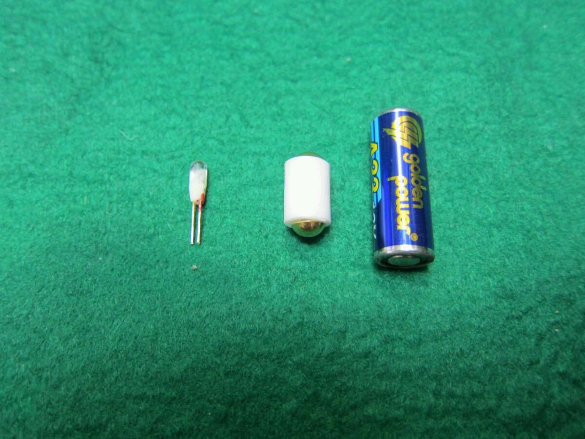 単4を1本使うマグライトソリテールの電球をLEDに交換セットマグライト本体は含まれません送料全国一律普通郵便120円_お送りする3点